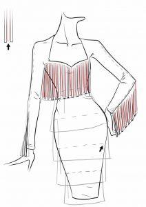 طراحی لباس مجلسی