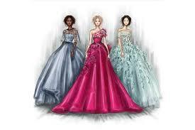 طراحی لباس با ماژیک