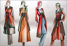 طراحی لباس در تهران