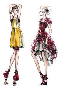 ورود به رشته طراحی لباس