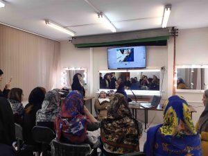بهترین آموزشگاه گریم و میکاپ در تهران با برترین متد روز دنیا